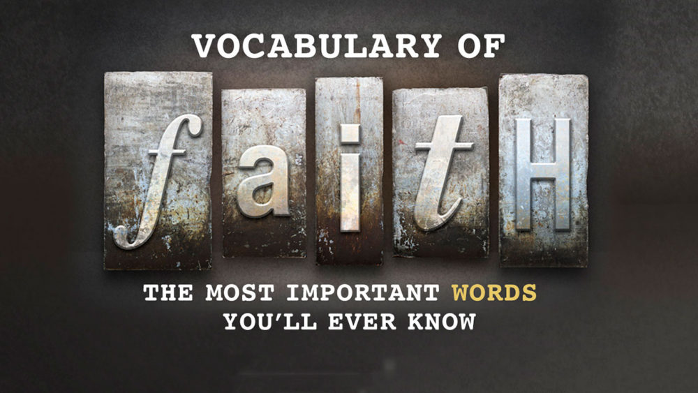 Vocabulary of Faith